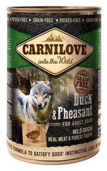 Carnilove Wild Meat Duck & Pheasant Adult