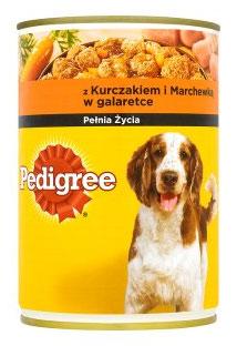 Pedigree z Kurczakiem i Marchewką w Galaretce