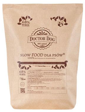 Doctor Dog Rasy Duże i Średnie – Wołowina z Wieprzowiną
