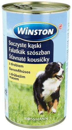 Winston Soczyste Kąski z Drobiem