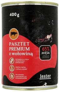 Lester Pasztet Premium z Wołowiną