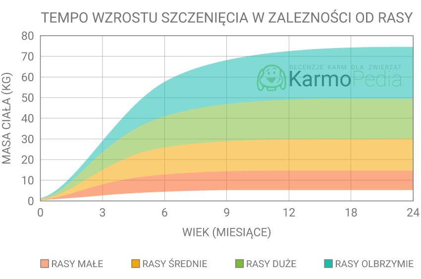 Tempo wzrostu szczenięcia - Najlepsza karma dla psa - Karmopedia.pl